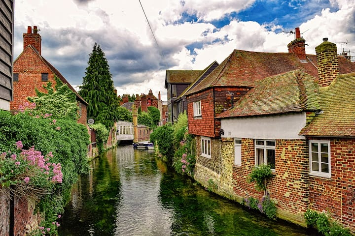 The River Stour from Friar's Bridge