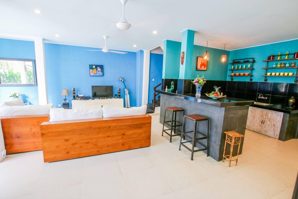 Kitchen - Vanilla 3 br private villa Seminyak Bali