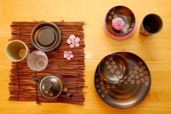 Sakura Room near JR Osaka/Umeda - Osaka - Departamento