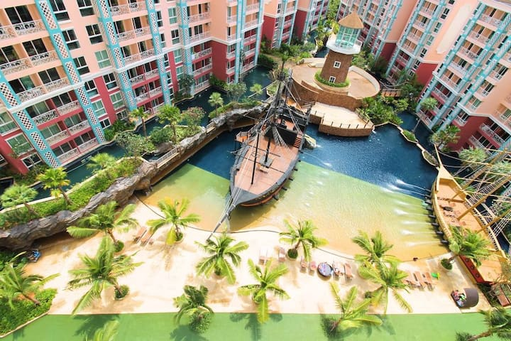 Pattaya Grand Caribbean Condo Resort (Room : A303)