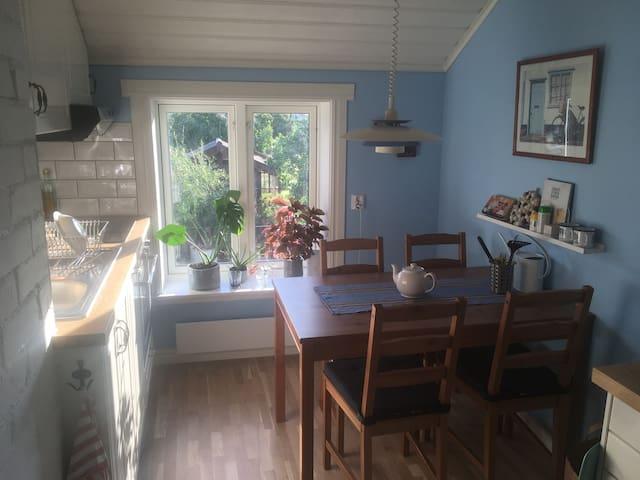 Cozy attic near Leksand town center and beach