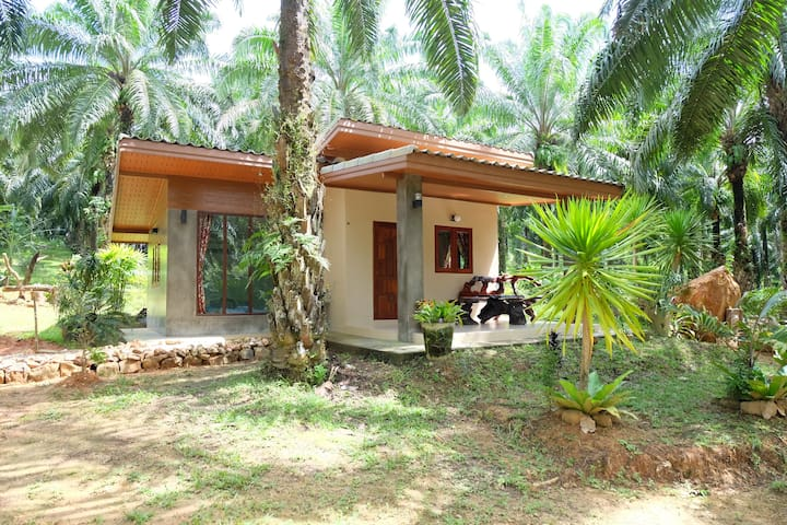 Two Bedrooms House near Hot Spring Waterfall - Khlong Thom Tai - Casa