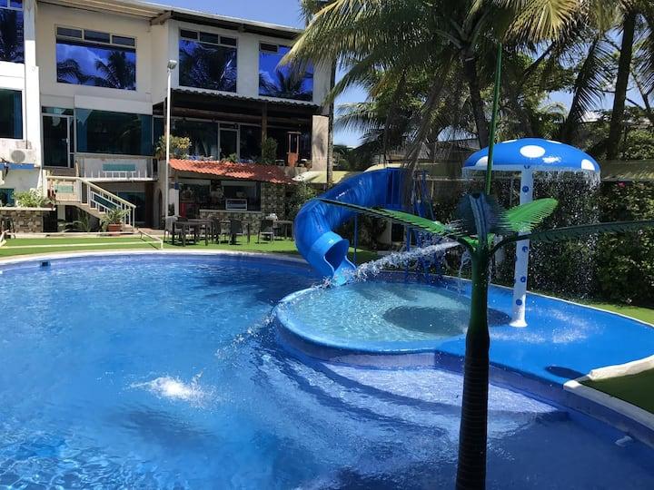 Hotel La Cascada, comfort y elegancia