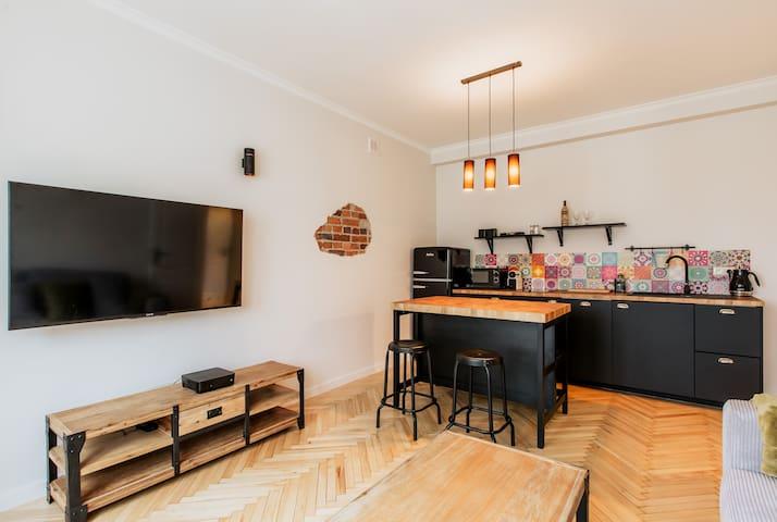 (Nowy) Apartament w sercu Warszawy