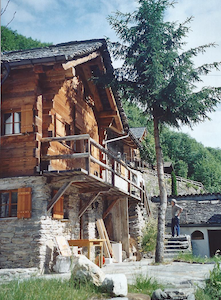 Schmuckes Ferienhaus im Calancatal - Calanca