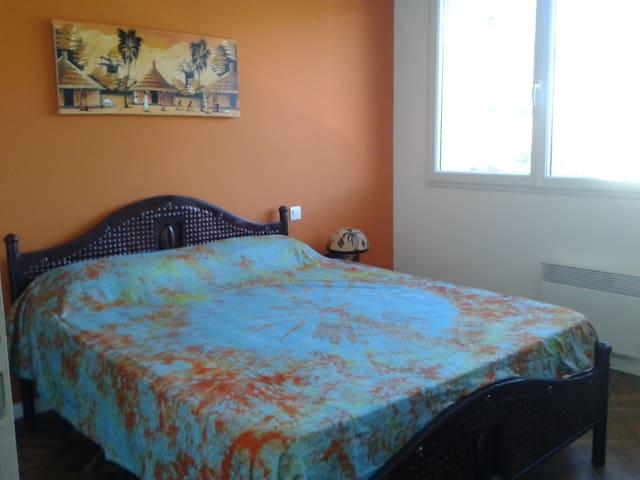 Chambre individuelle + SDB privée - Vieux-Boucau-les-Bains - Ház