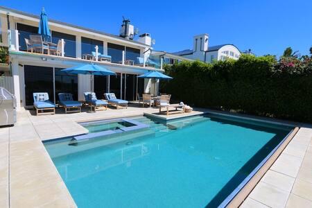 4bd Malibu beach villa with pool - マリブ