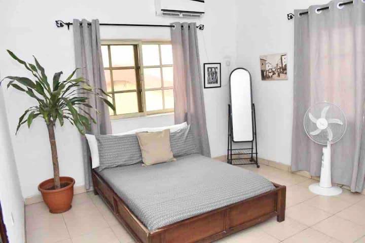 ARO|Apartments: Dbl Room w/ WIFI. (Ogba/Ikeja)