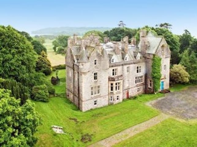 Orchardton Castle - self catering - Auchencairn - Castelo