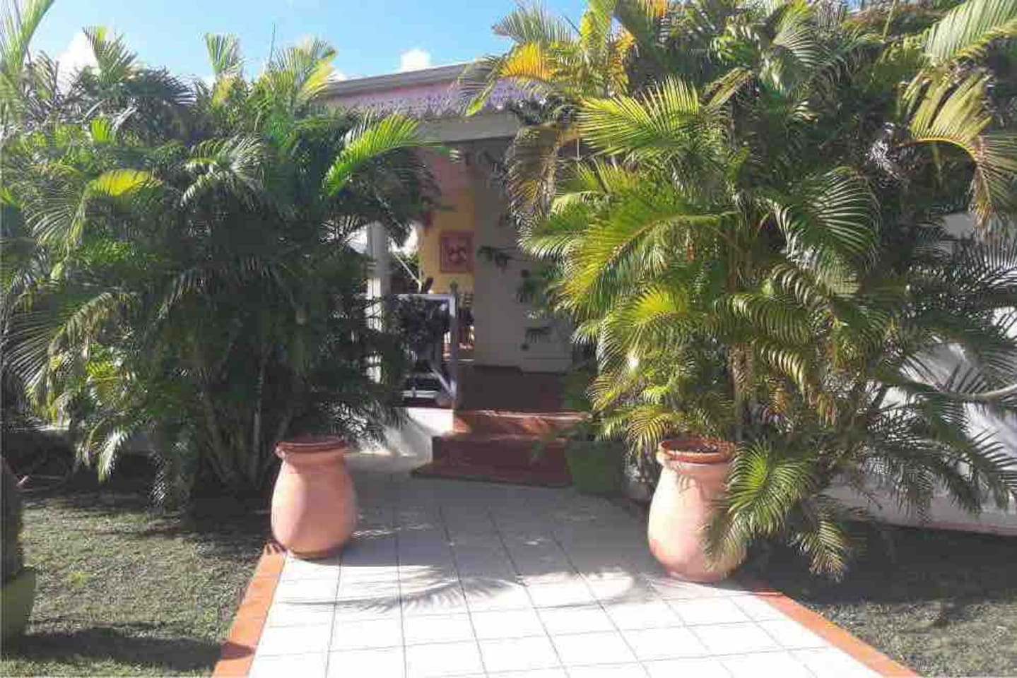 L'entrée de la maison / House's entry