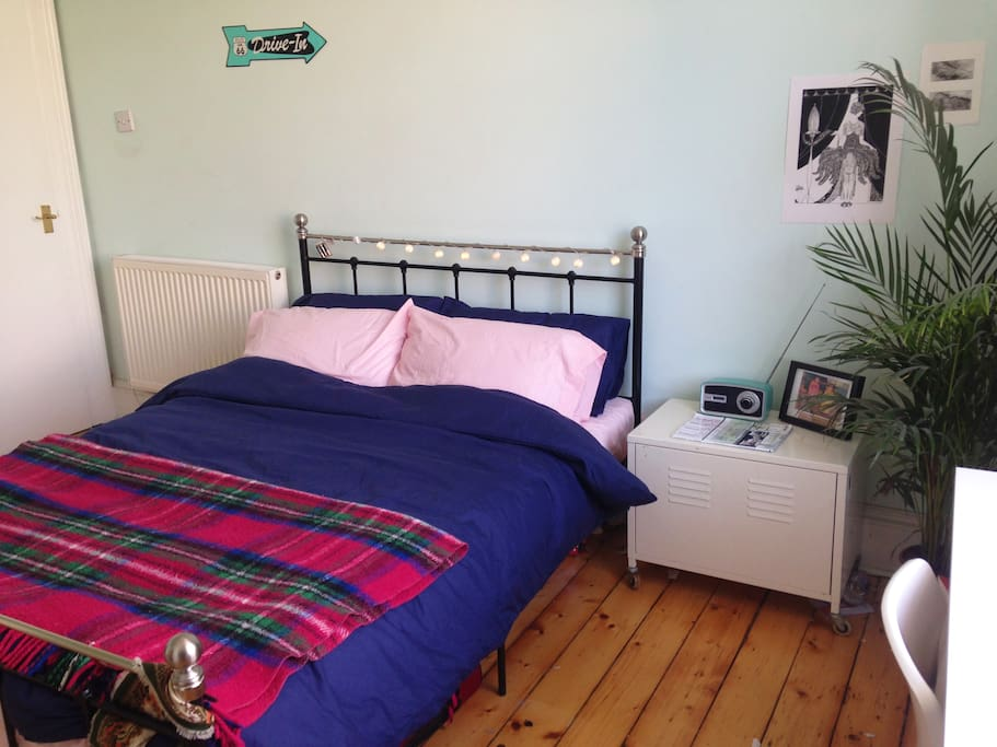 Your comfy double bed!