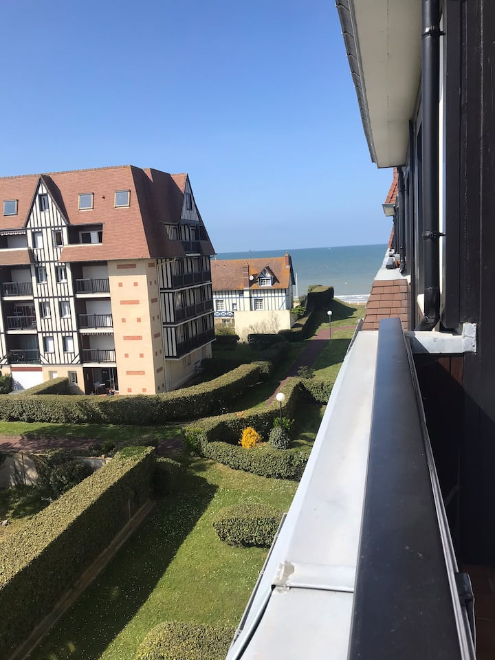 Appartement 42m2, bord de mer, 1 place de parking