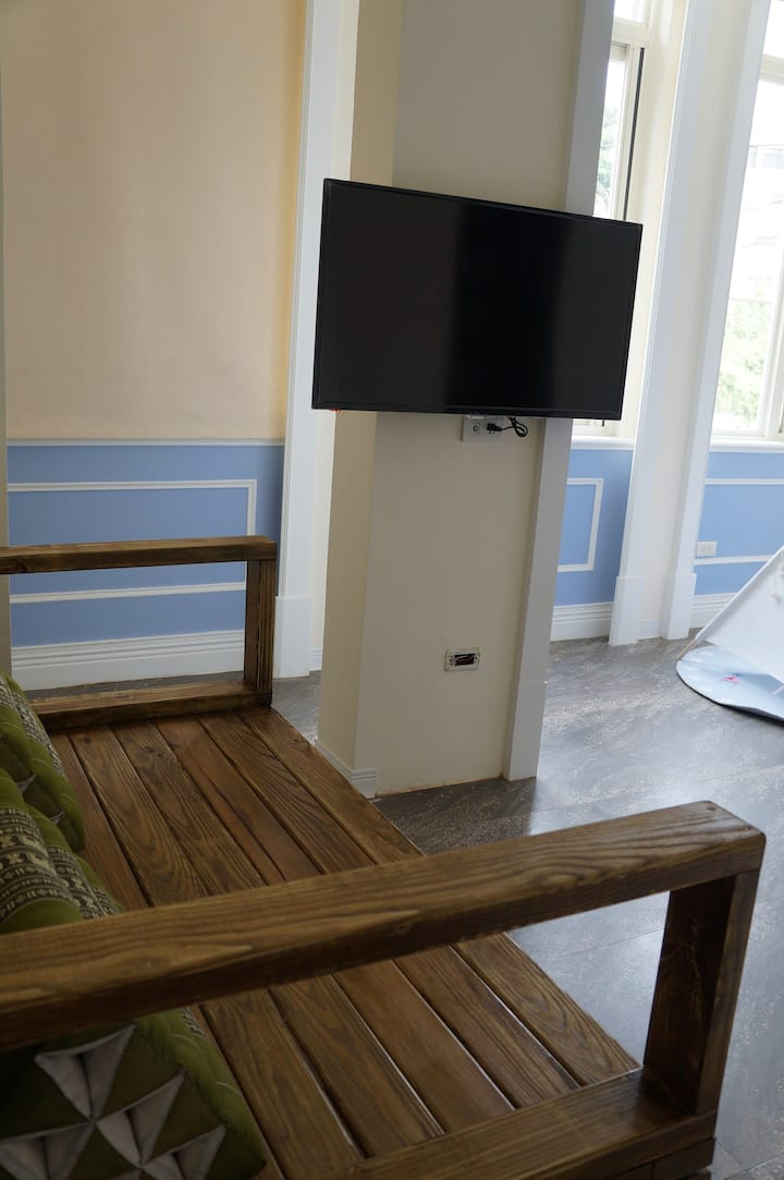 Deluxe Double room with Street View at Baishawan