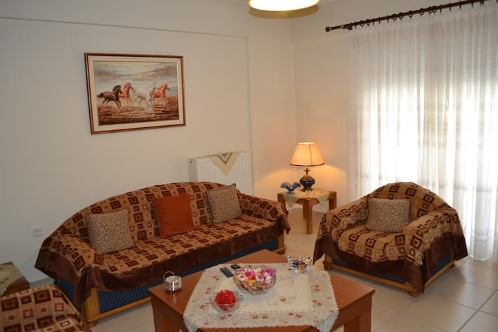 Center appartment with free parking!