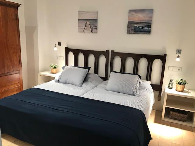 Habitación de 2 camas 1a planta