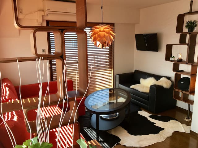 New!!  #6, 2BR,5Beds Penthouse in central Shinjuku - 新宿区 - Appartement