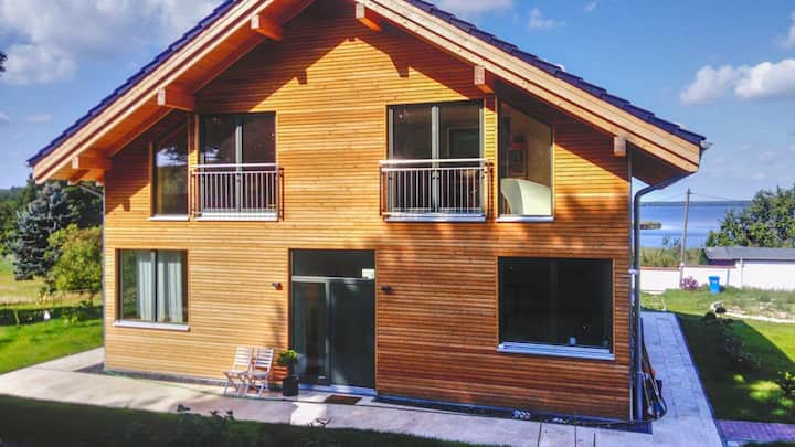 Pure Erholung im Designer Haus am Grimnitzsee