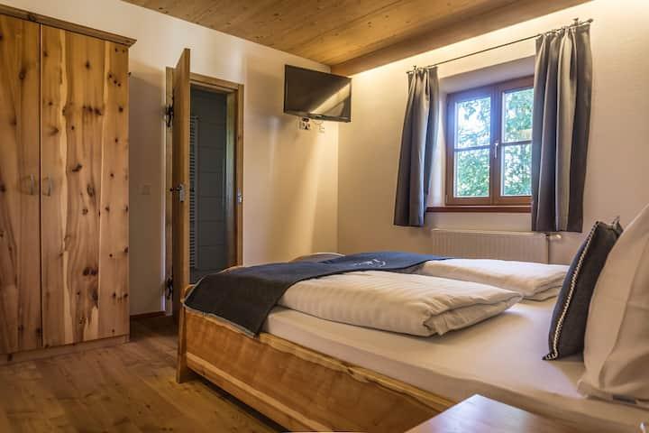 Gemütliches Doppelzimmer in den Lungauer Bergen