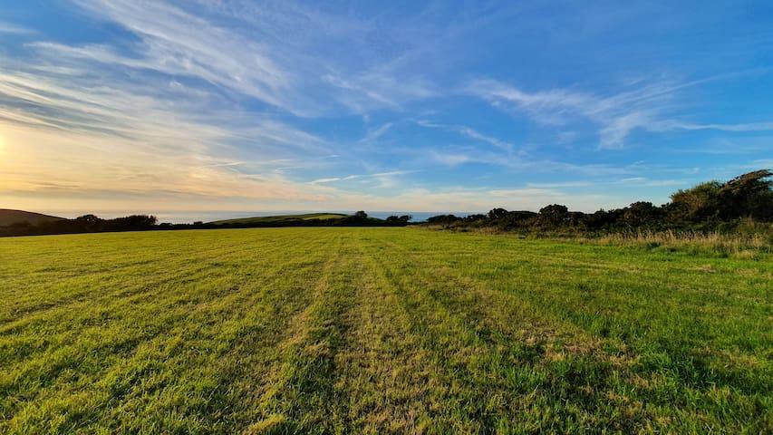 Wildcamping on the North Devon coast!