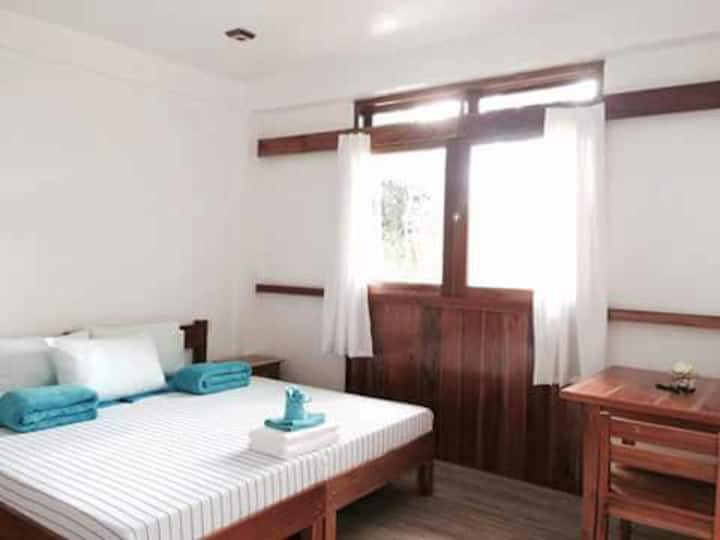 Private Double Room No2 at Pahiluna Guesthouse