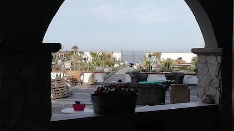 Appartamento in villa oasy sul mare