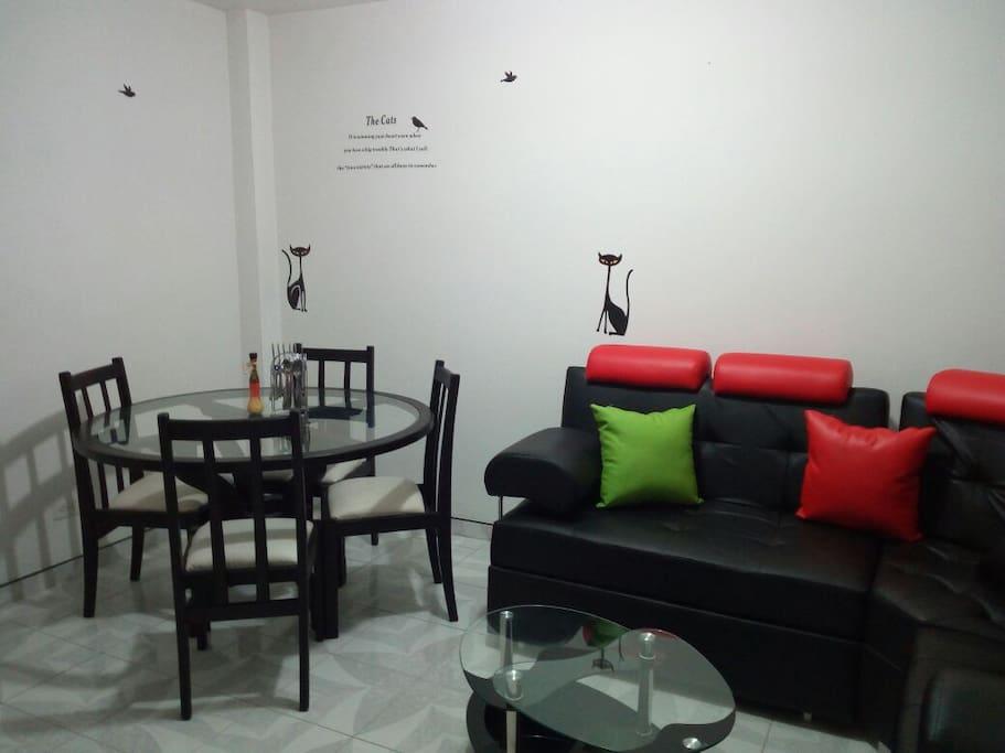 sala comedor nueva