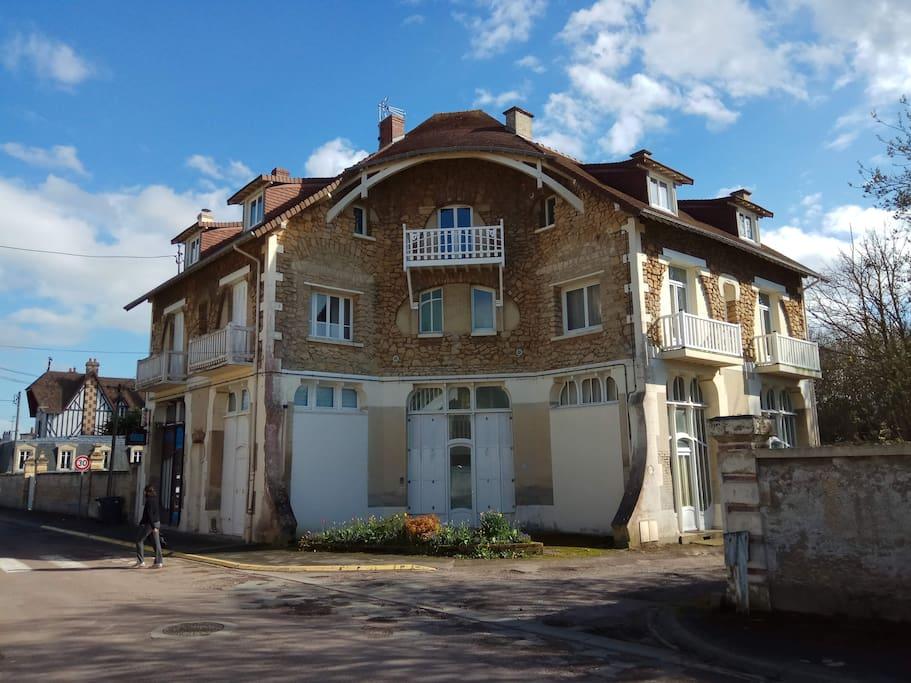 La villa La Sapinière