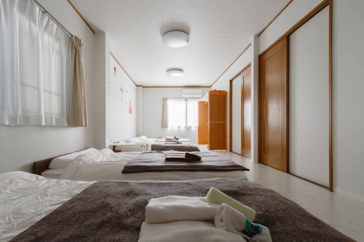 ONLY 350m Tengachaya St.☆Japanese big house(1F&2F) - Nishinari-ku, Ōsaka-shi - Dom