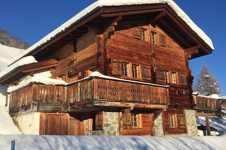 Luxurious old wood style chalet - Heremence - Talo