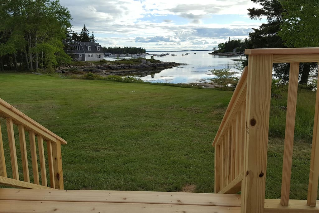 Beautiful views and sunsets you will see from the newly constructed deck