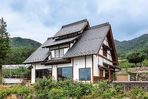[Casa inteira] Espaço privado para churrasco em uma casa inteira com vista para o Monte Fuji ★ Ir para pousada aplicável
