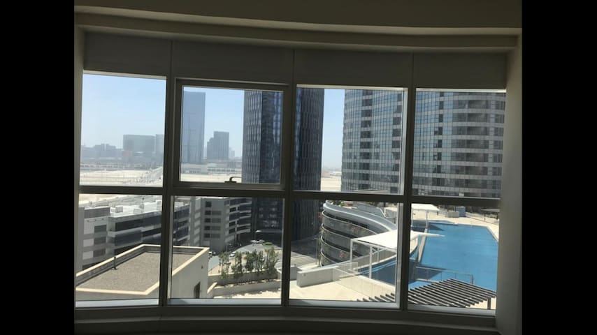 Beautiful studio Al Reem Island pool & city view