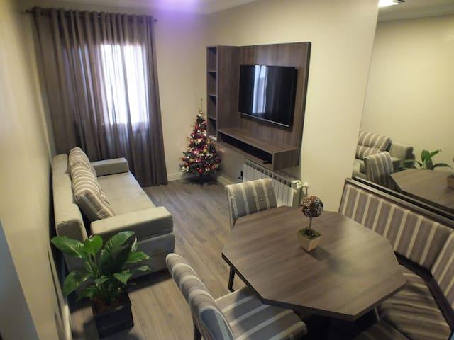 Apartamento - Em frente ao palco do Natal Luz
