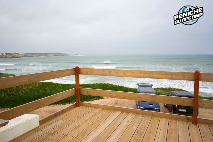 Apto White Sand-Peniche surf Camp cowork and surf