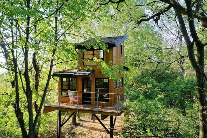 Węgiełek Treehouse