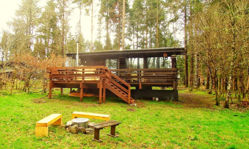 Secluded Forest Lodge with Hot Tub - Dalavich - Cabaña