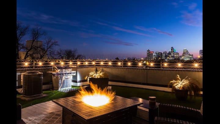Rooftop w/View! By Uptown-Deep Ellum-LoGreenville!