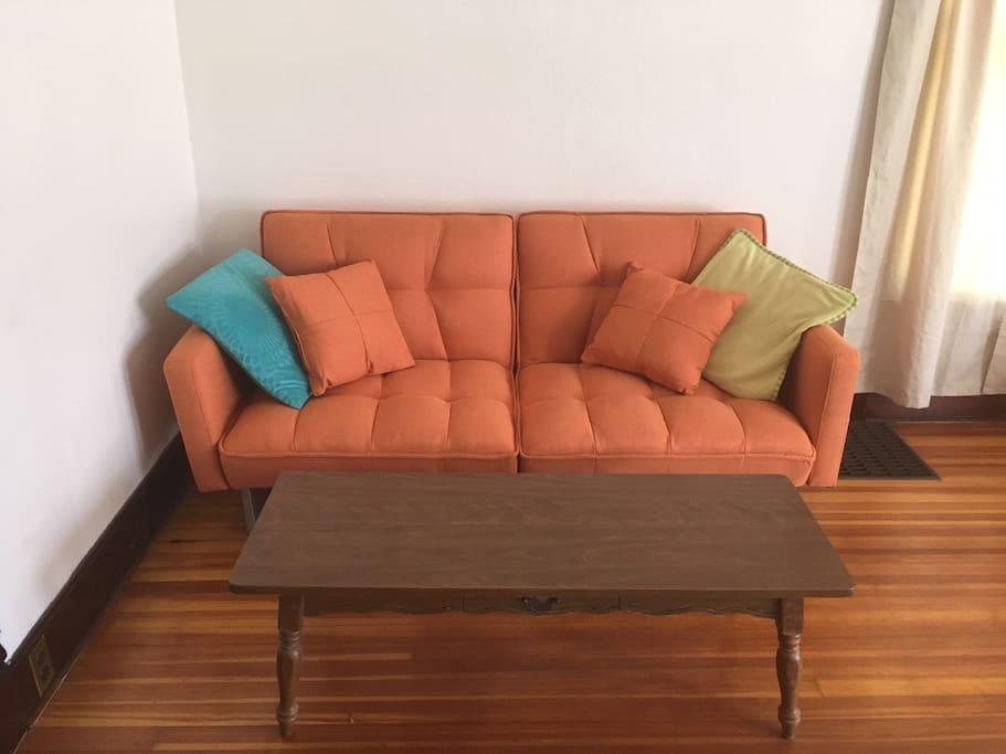 Futon sofa sleeps one