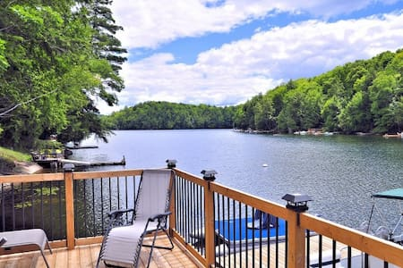 Haliburton Cottage on the water, Long Lake - Tory Hill - Zomerhuis/Cottage