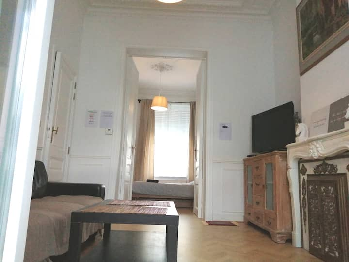 Nice apartment & terrace 5 min to centrum
