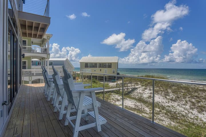Malibu Modern, Gulf Front, Tons Of Great Space ~ 6 Pack