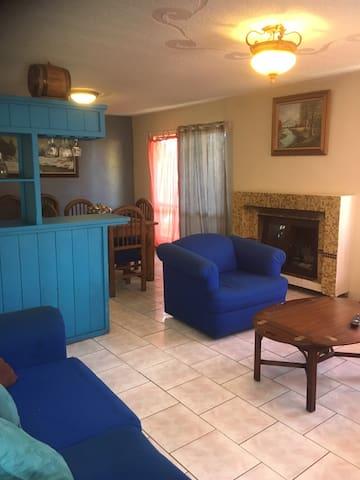 La Casa Mexicana en Zona de Costa 3 camas