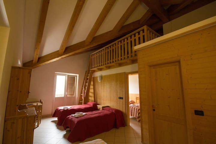 Appartamento con 6 posti letto - Polsa