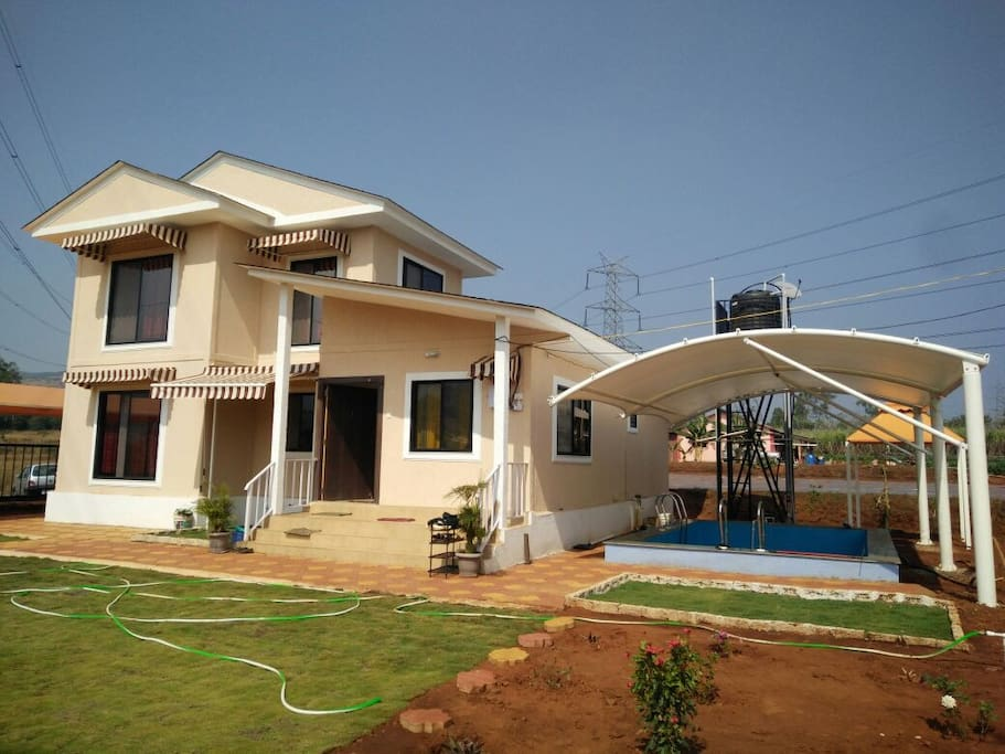 NEST   A Place to rest  2 Bedrooms,  2 Halls,  Kitchen, Pool,  Lawn....