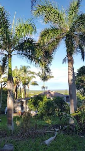 Palms by Da Beach-A cozy paradise hideaway - Naalehu - Gästhus