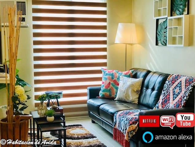 IT Park Cebu- One Bedroom-Habitacion de Avida