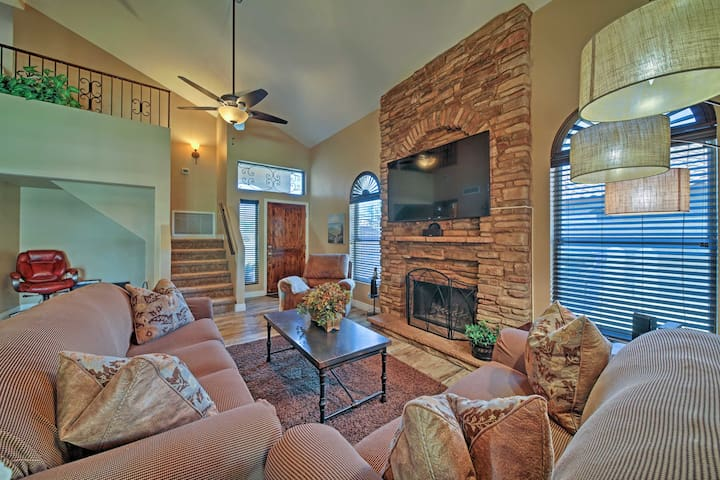 Up to 6 travelers can stay in this 3-bed, 2.5-bath home.