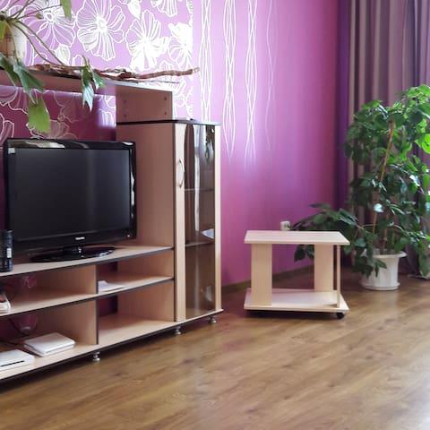 Просторная квартира-студия в центре - Grodno - Apartment