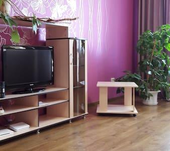 Просторная квартира-студия в центре - Grodno - Appartement