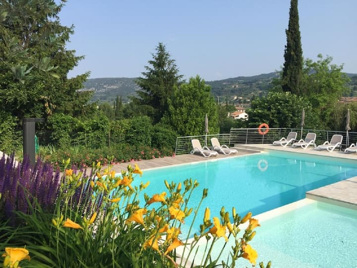 Le Rasole with terrace and pool